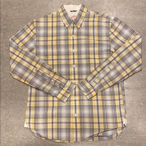 Brooks Brothers - Yellow/Blue Plaid Button Down